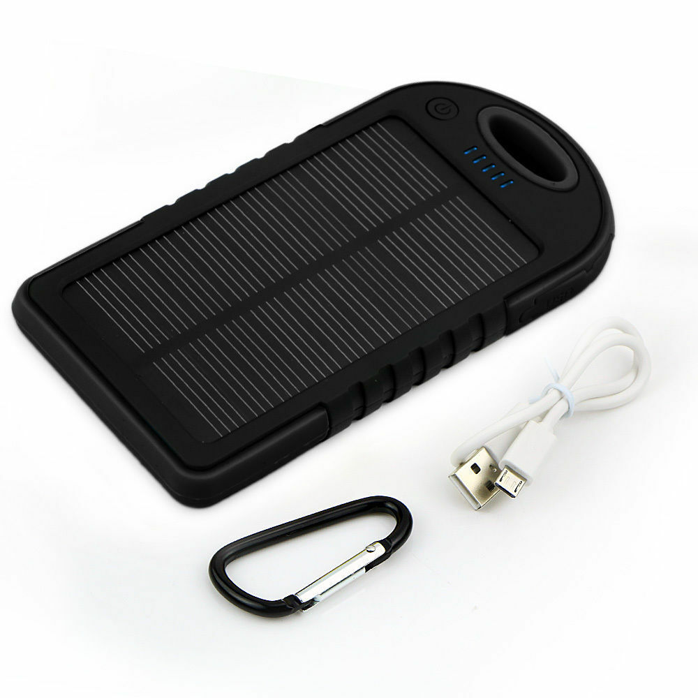 16000mah Portable Waterproof Solar Charger Dual Usb
