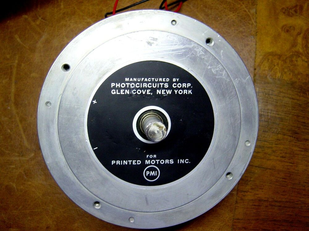 Photocircuits kollmorgen printed motors dc electric for Types of electric motors