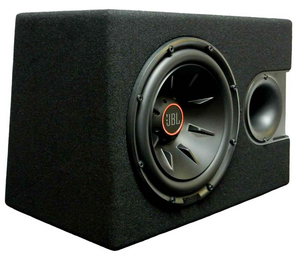 jbl s2 1224ss pre loaded 1100w 12 sub woofer enclosure. Black Bedroom Furniture Sets. Home Design Ideas