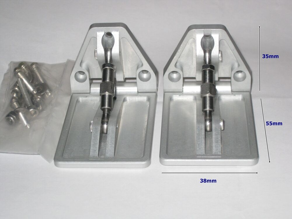 Trim tabs for fast electric rc boat new version ebay for Outboard motor trim tab