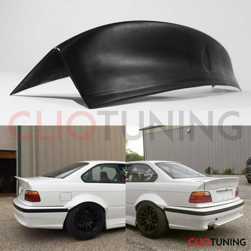 bmw e36 coupe 2door csl spoiler rear trunk bootlip wing. Black Bedroom Furniture Sets. Home Design Ideas