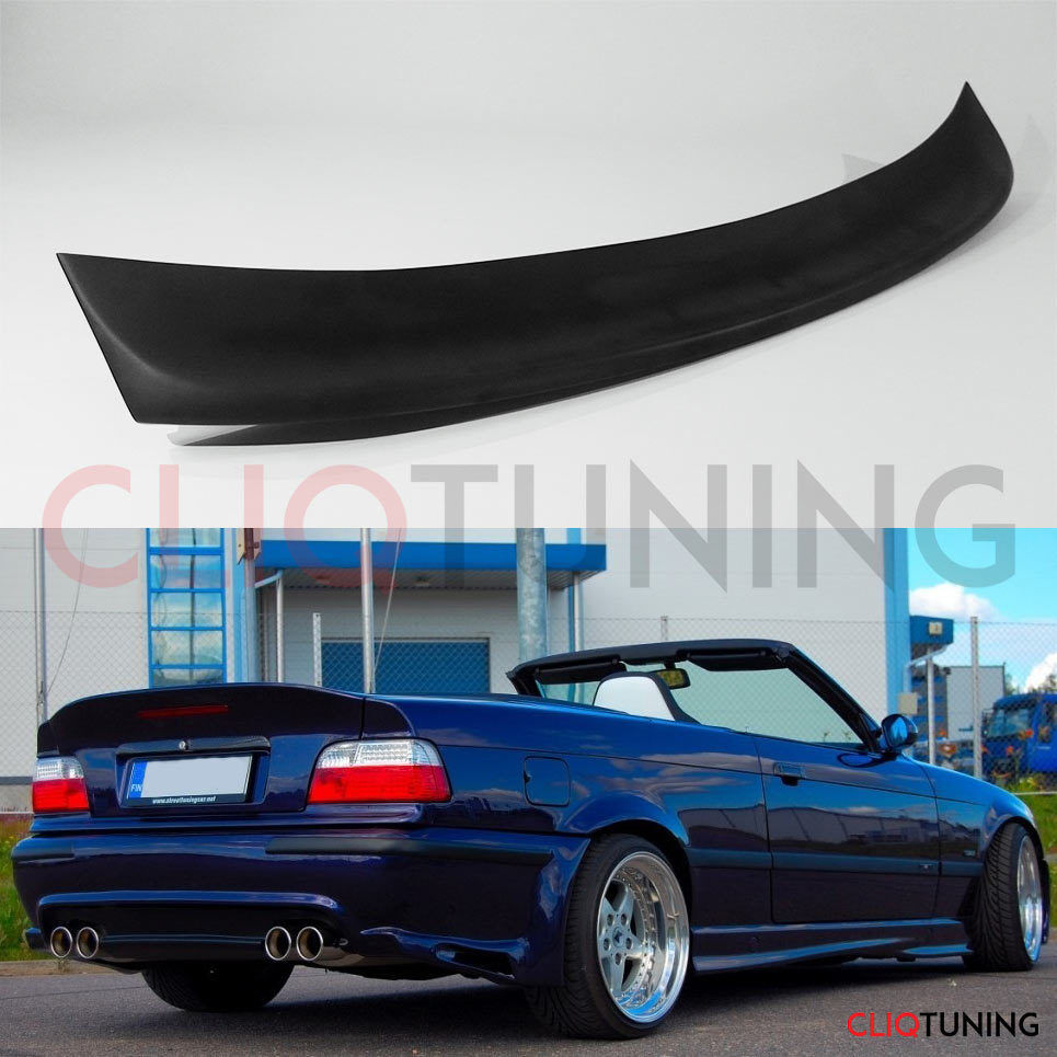 bmw e36 cabrio convertible csl spoiler vert rear trunk. Black Bedroom Furniture Sets. Home Design Ideas
