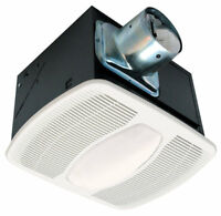 Air King AK100L100 CFM Deluxe Quiet Exhaust Fan & LIGHT