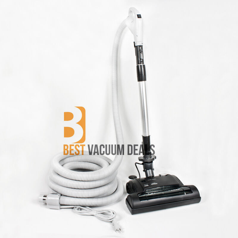 30 Or 35 Deluxe Central Vacuum Kit Electric Hose Power