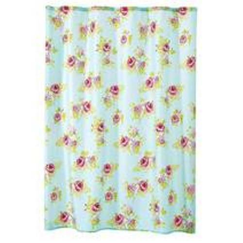 Shabby Chic Vintage Style Floral Shower Curtain Ebay