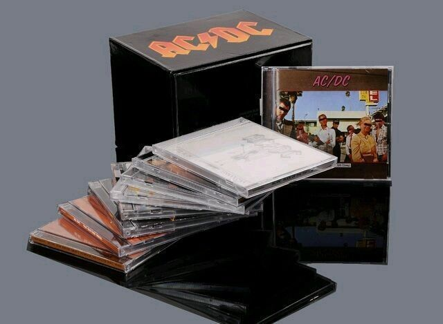 ac dc box set complete albums cd collection collectable new factory sealed ebay. Black Bedroom Furniture Sets. Home Design Ideas