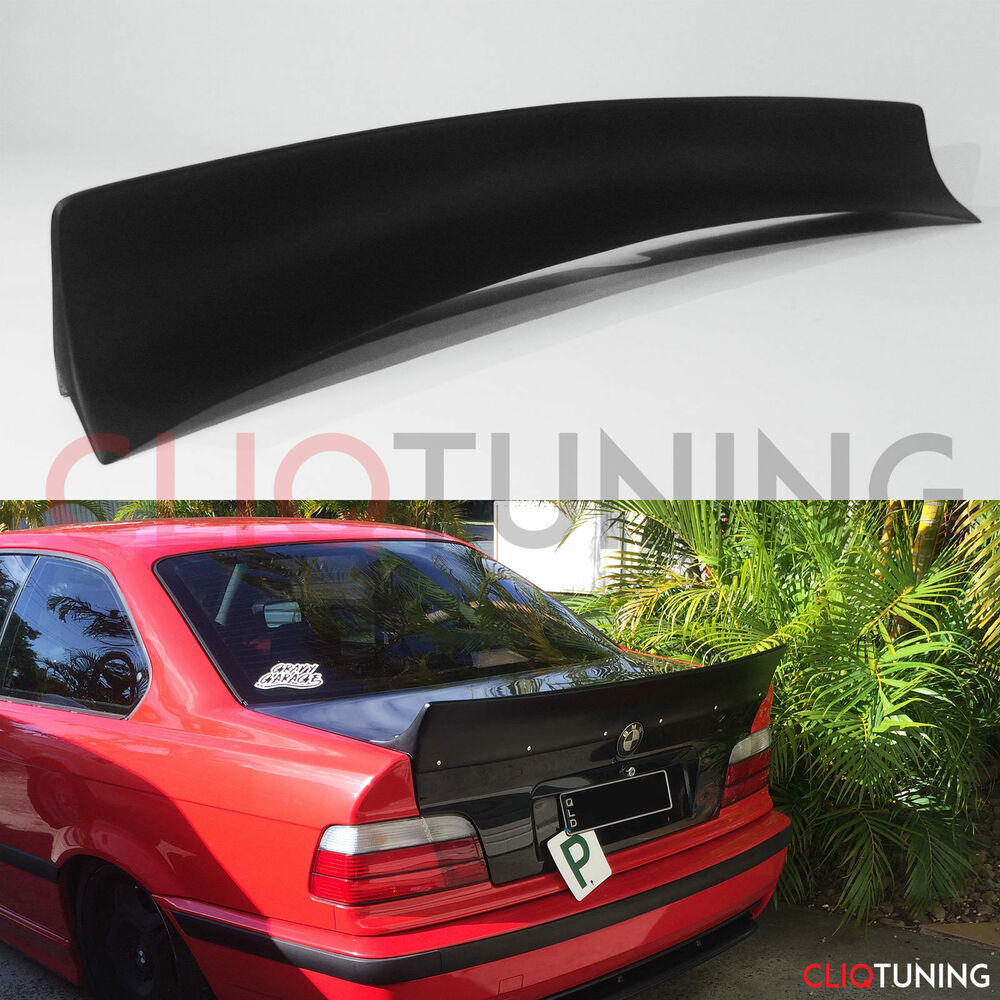 BMW E36 COUPE DUCKTAIL WING (trunk rear bootlip spoiler ...