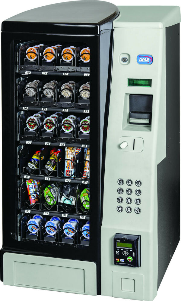 A M S Table Top Single Serv Coffee Pod Vending Machine 24