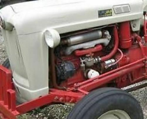 Ford 900 Tractor Parts : Ford engine overhaul kit in frame cid gas series