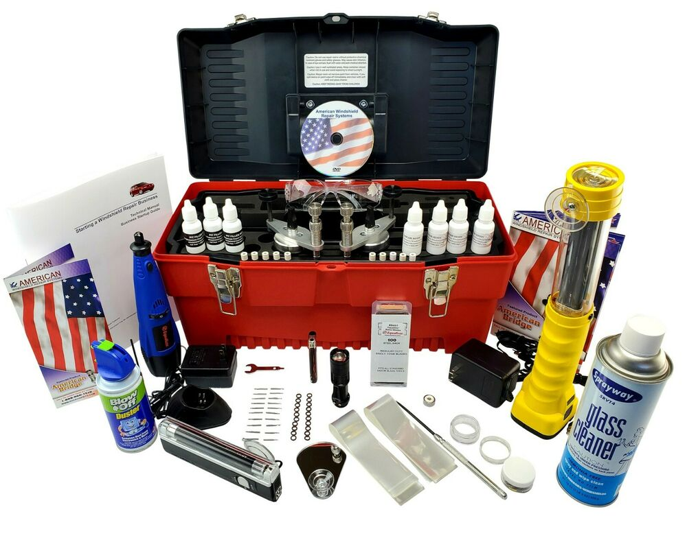 Windshield Repair Kit Auto Glass Repair System (MASTER KIT