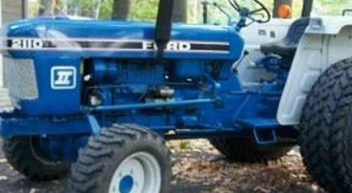 Ford 2110 Tractor : Ford compact tractor starter sba  ebay