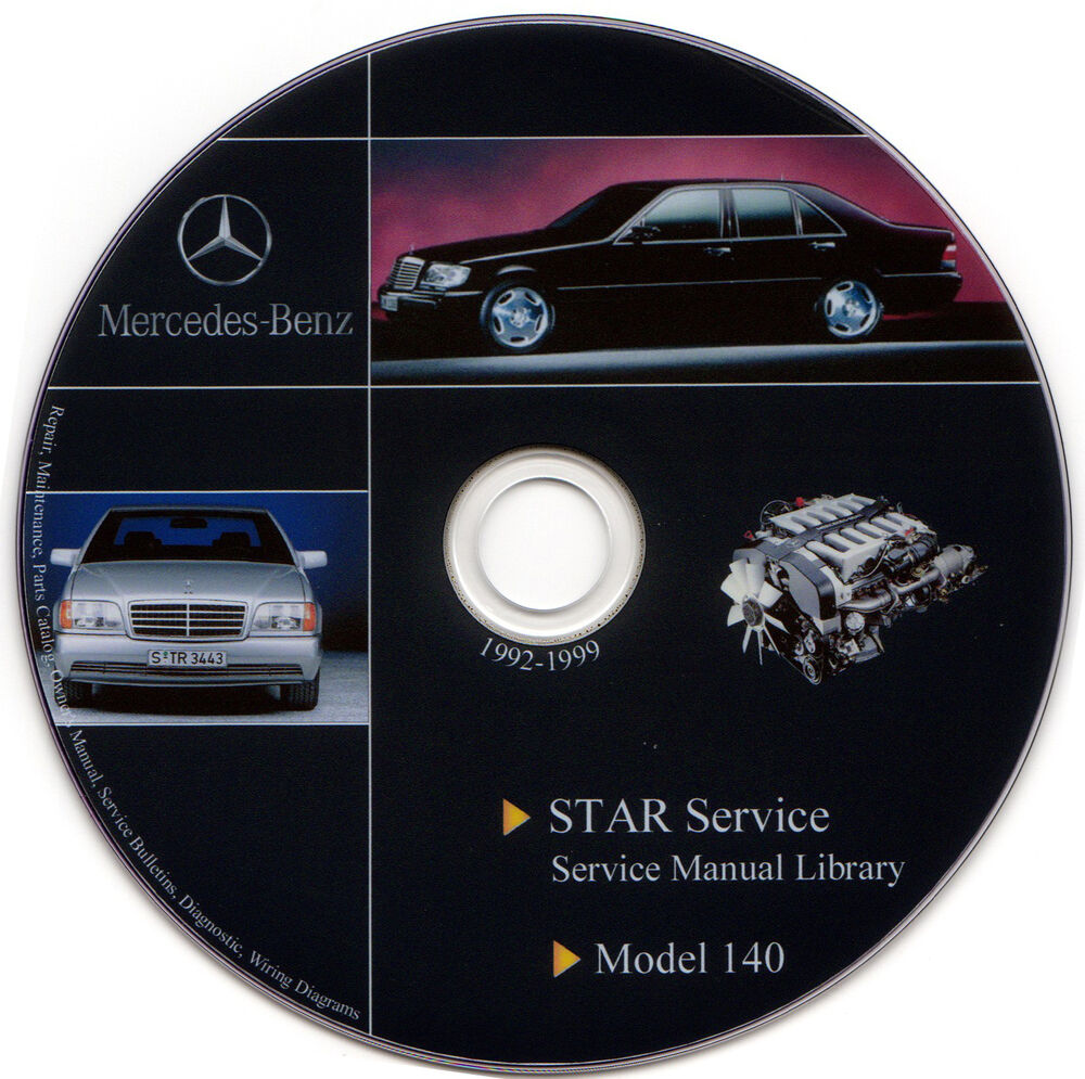 Mercedes benz w140 service manual repair workshop s500 for Mercedes benz star service