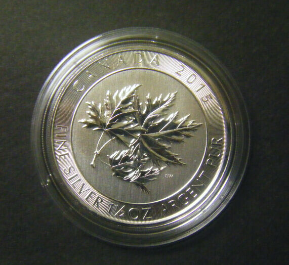 2015 Canada 8 1 5oz 1 1 2oz Canadian Maple Leaf 9999