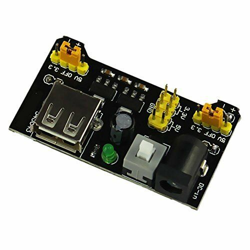 Acc v mb breadboard power supply module