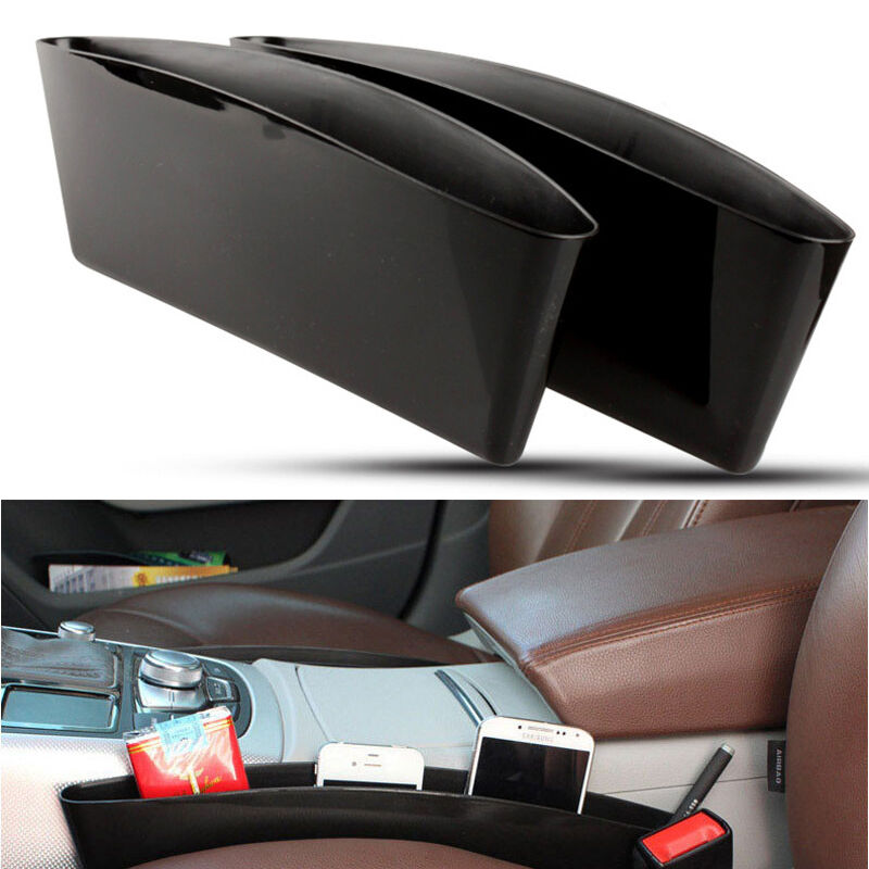 Car Auto Vehicle Seat Slit Storage Box Bag Catcher Holder