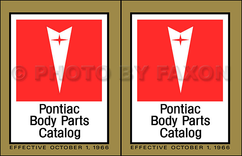 pontiac parts catalog ebay
