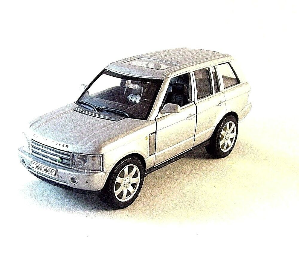 LAND ROVER RANGE ROVER ,SILVER WELLY 1/32 DIECAST CLASSIC