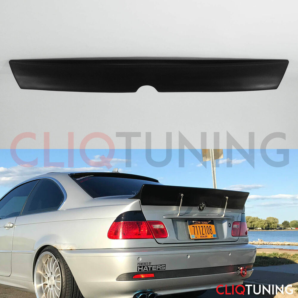 bmw e46 coupe rocket bunny ducktail wing 2door trunk. Black Bedroom Furniture Sets. Home Design Ideas