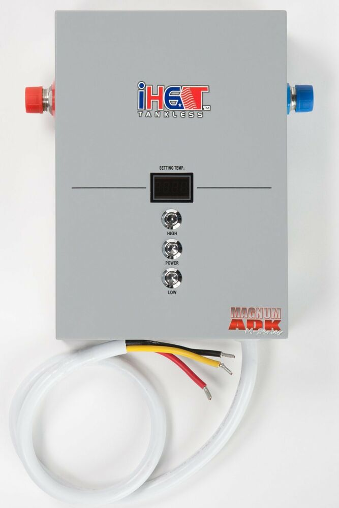Iheat m 16 16kw pou whole house electric tankless water for Whole house electric heat