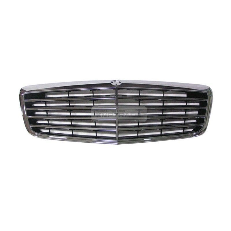 Chrome style radiator front grille grill for mercedes benz for Mercedes benz grille