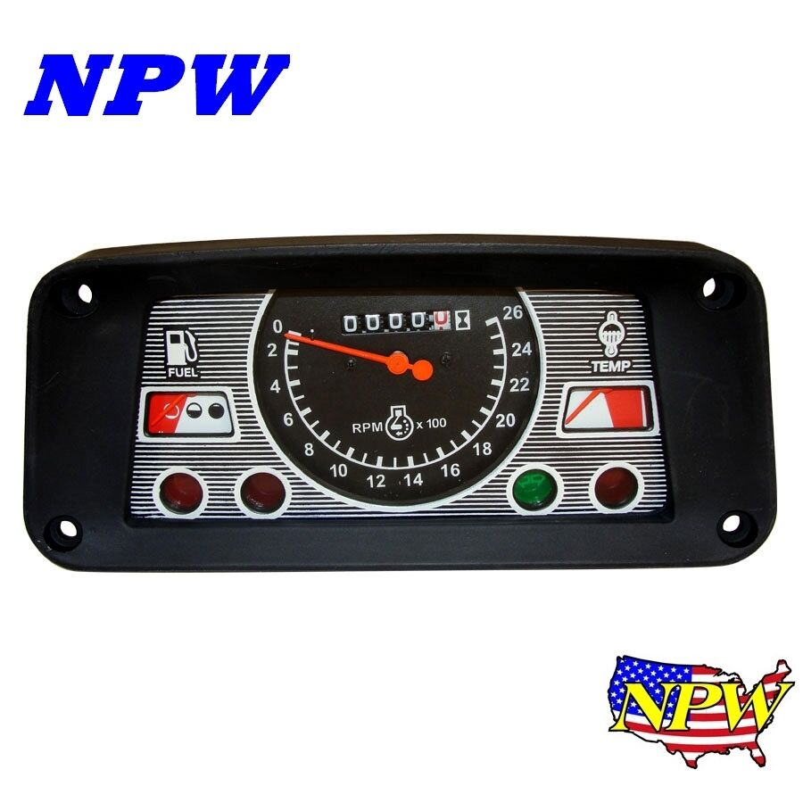 Instrument Gauge Cluster Ford 5610 7610 6610 83954557 Ebay Tractor 3600 Wiring Harness E5nn10849ba 2310 2600 3910 4110 4600 5110 6600