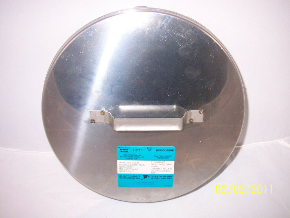 Central Boiler 8 Quot Chimney Tee Cover Stainless New