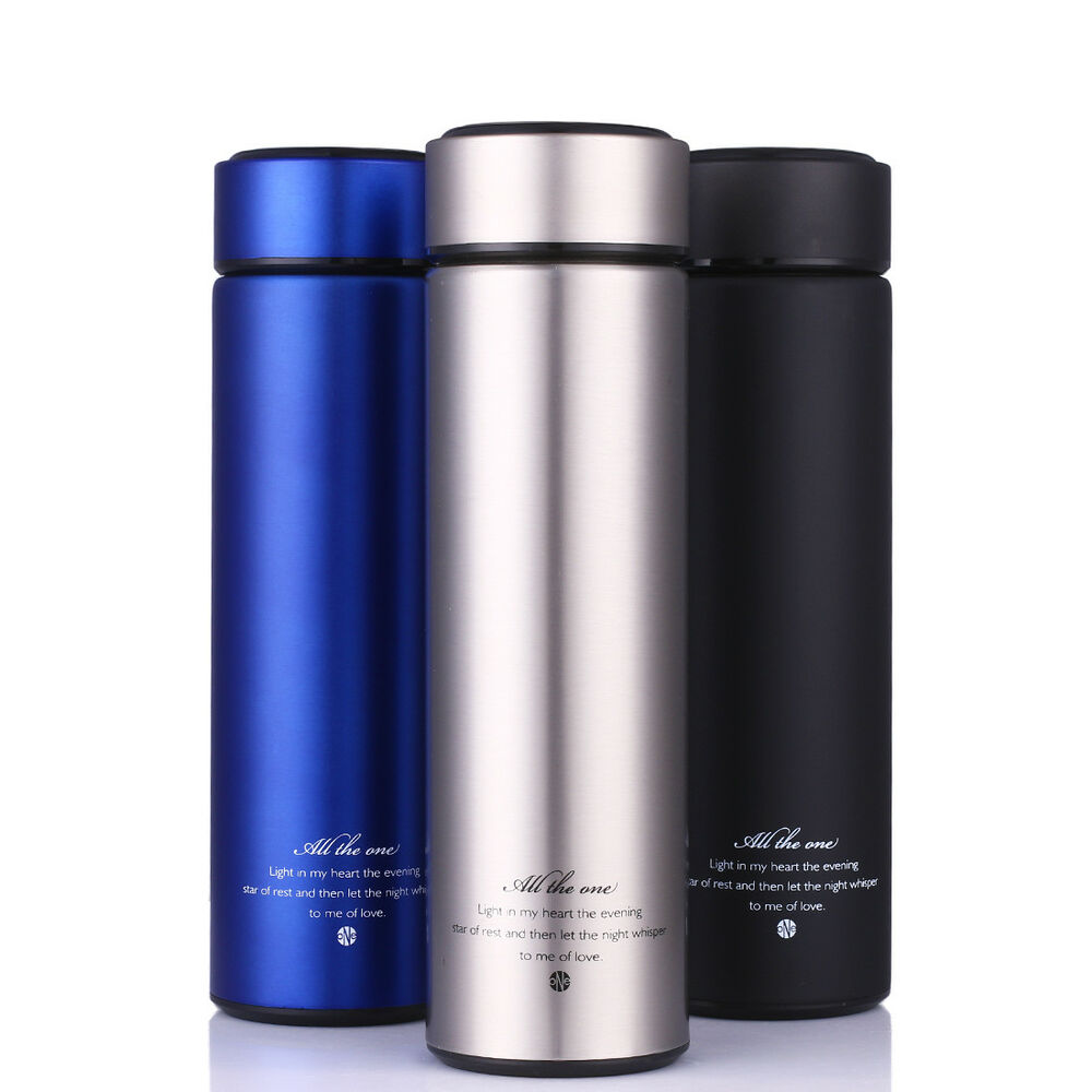 15 Oz Thermos Cup Insulated Stainless Steel Travel Tumbler