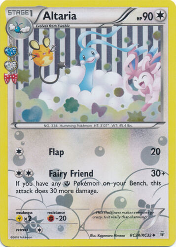 Pokemon Swirlix RC19//RC32 XY Generations Uncommon NM-Mint Fast Shipping!