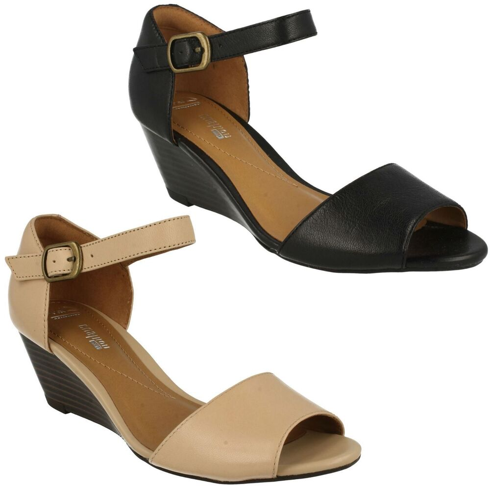 Clarks Block Heel Shoes