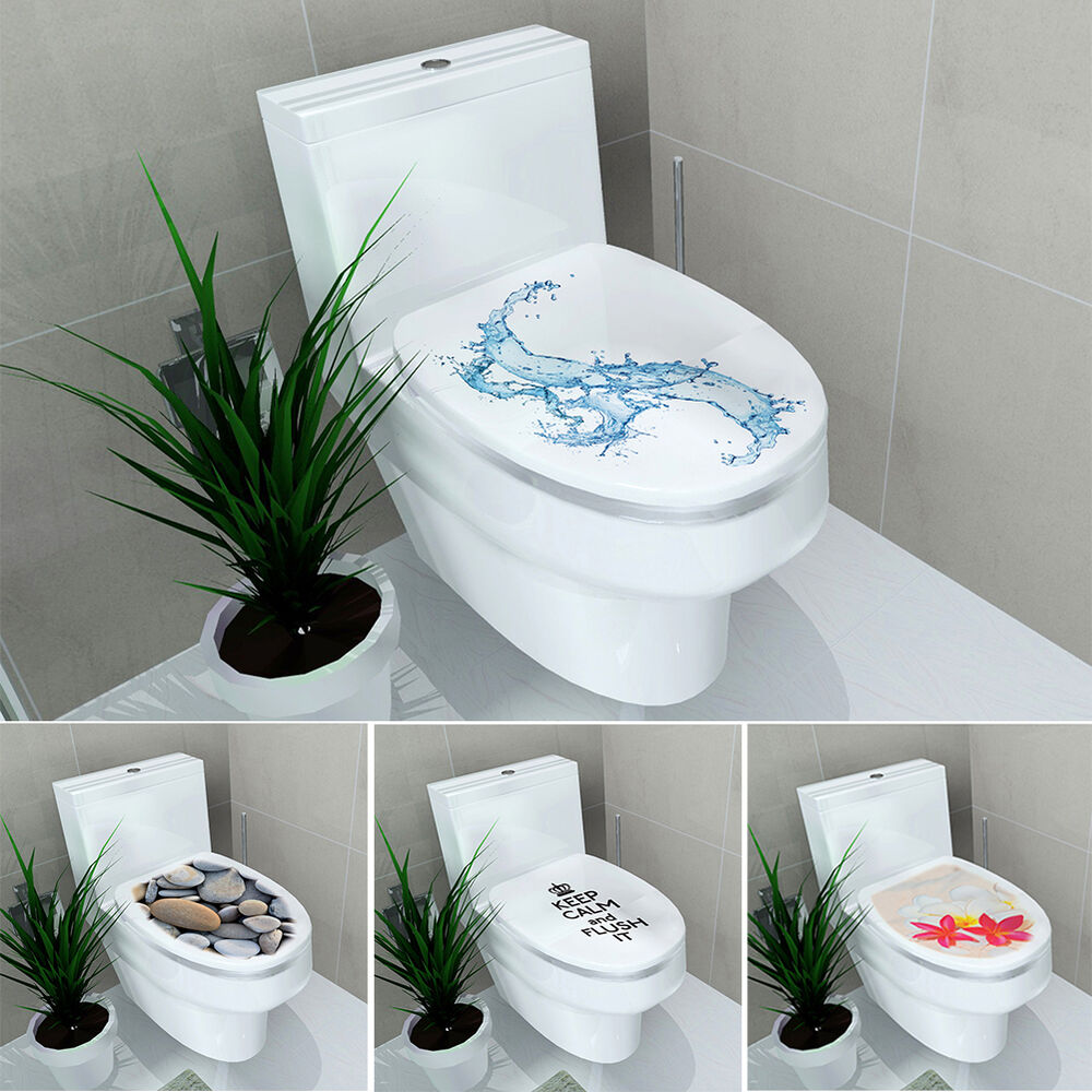 neu wc aufkleber toiletten tattoo klodeckel badezimmer wandtattoo sticker deko ebay. Black Bedroom Furniture Sets. Home Design Ideas