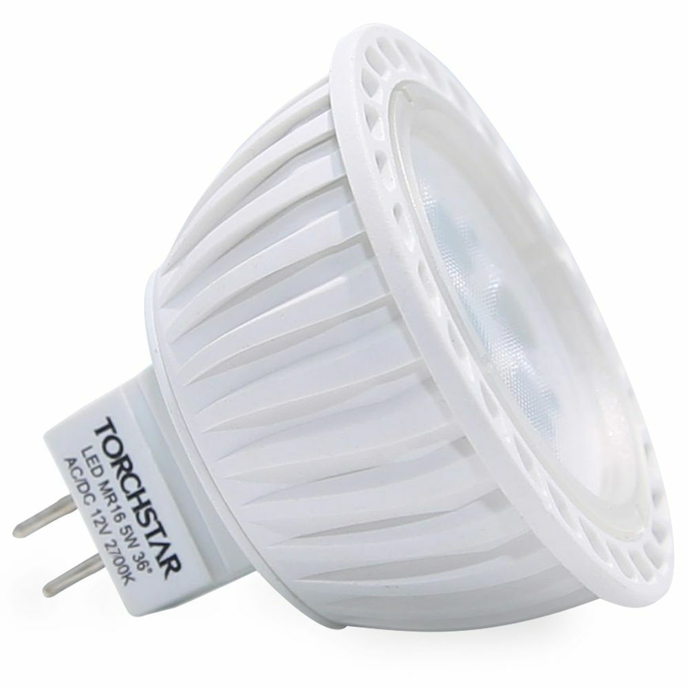 Mr16 Led Bulbs: AC/DC12V 5W MR16 LED Bulb-Warm White/Daylight LED