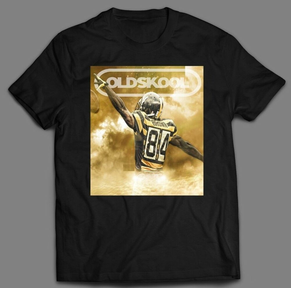 antonio brown custom artwork nike oldskool t shirt many