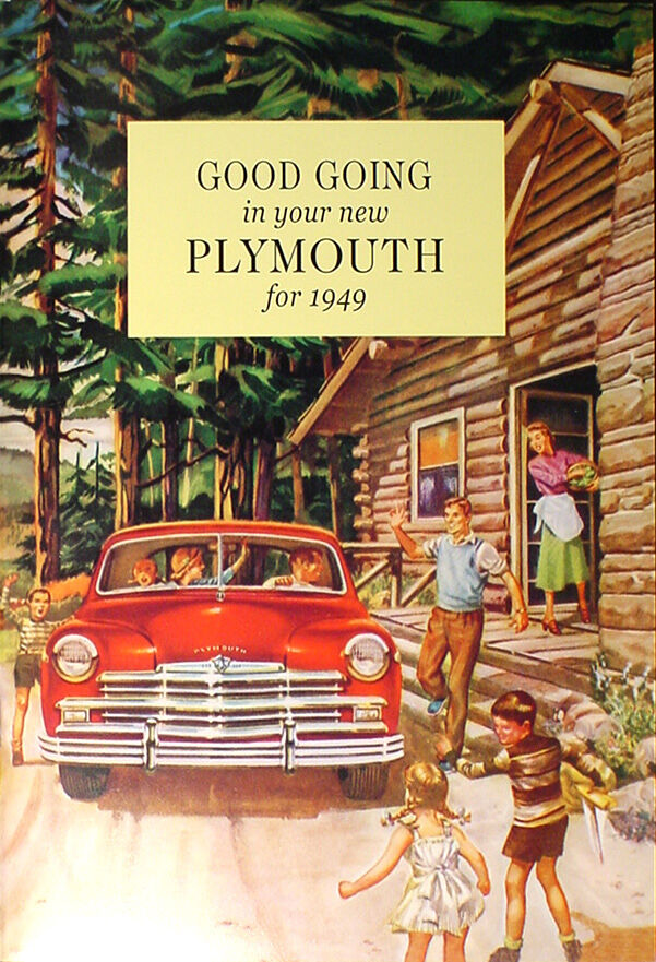 1949 Plymouth Owners Manual 49 Special And Deluxe P17 P18
