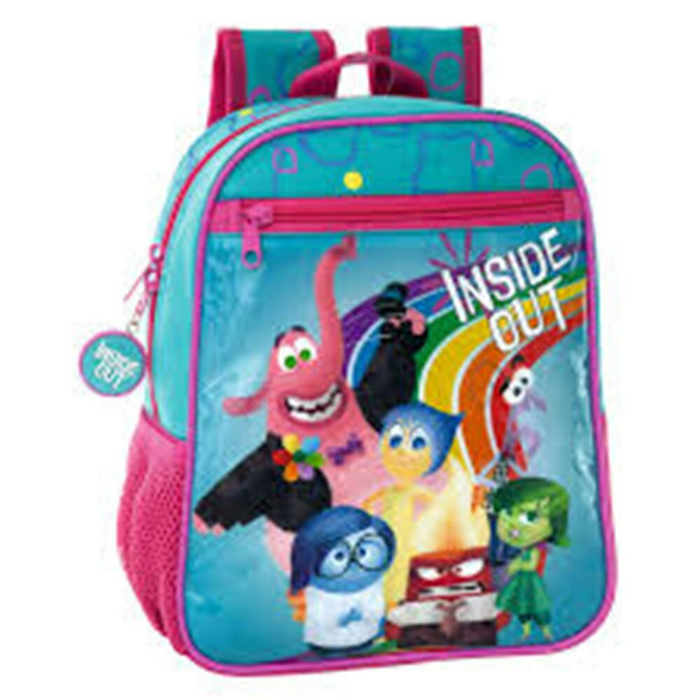 6e5cced488e Details about Disney INSIDE OUT - Small Backpack with Zipped Front Pocket  Size  23x28x10 cm