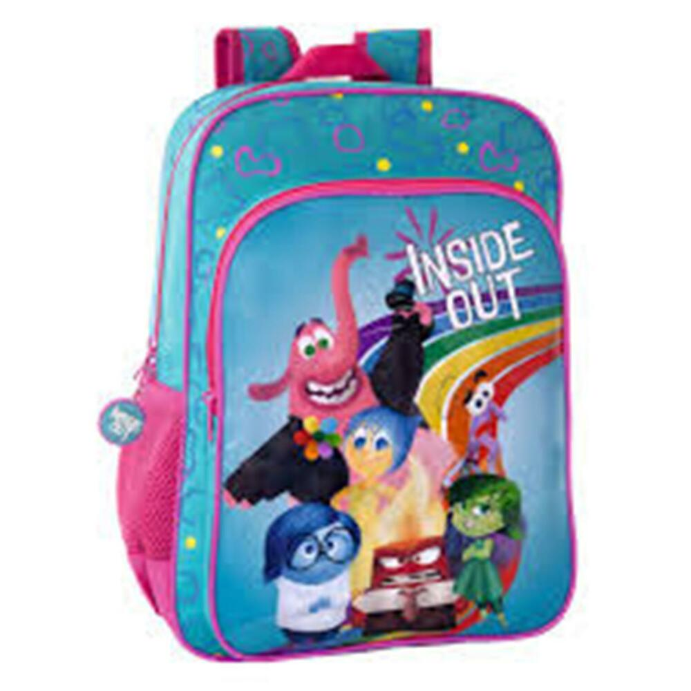 8318d5d874b Details about Disney INSIDE OUT - Large Backpack with Pocket Size  30x40x16  cm