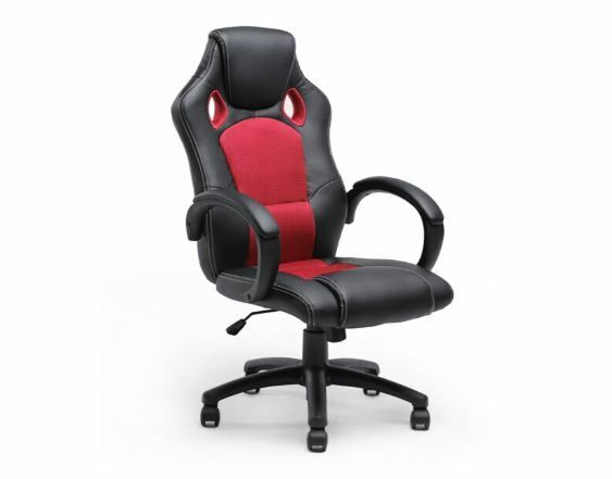 cheap computer chair best gaming racing desk table seat heavy people 300lb arms ebay. Black Bedroom Furniture Sets. Home Design Ideas