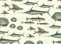Rossi Fishes Wrapping Paper