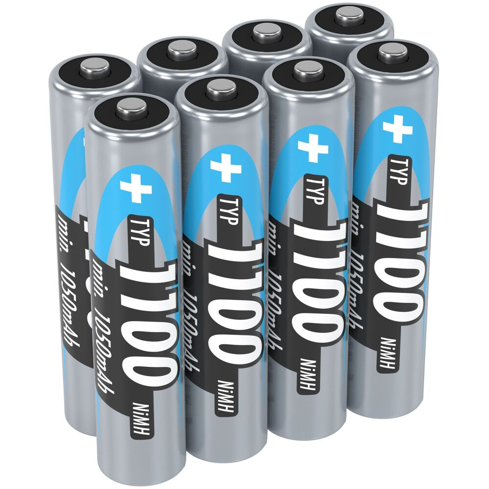 ansmann 1100 mah aaa high capacity rechargeable batteries. Black Bedroom Furniture Sets. Home Design Ideas