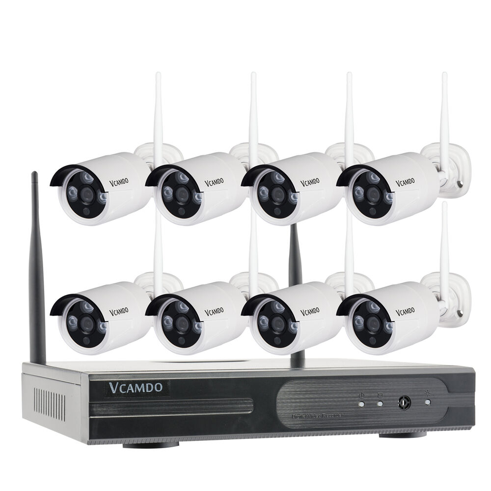 Completely Wireless Home Security Camera System