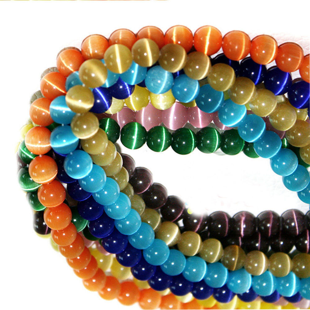 Wholesale shine round cats eye loose beads craft jewelry for Wholesale craft supplies in bulk