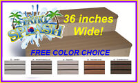 "Hot Tub Step Spa Step Super Wide Safer Entry & Exit Sweet 36"" Steps FAST SHIP"