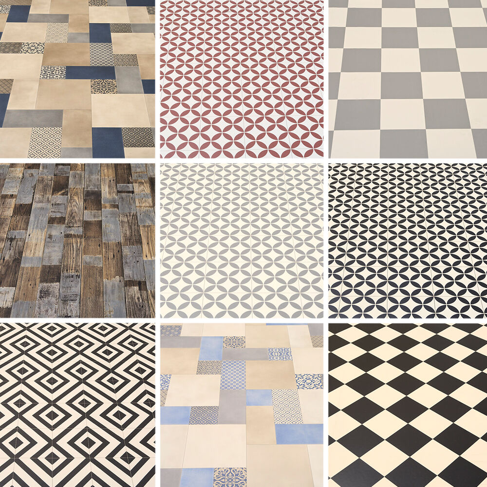 Linoleum Floor Tiles - Carpet Vidalondon