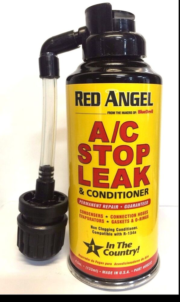 how to use ac stop leak