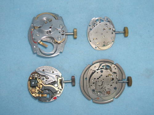Vintage Timex Movements Automatic, Wind up Electric NOS