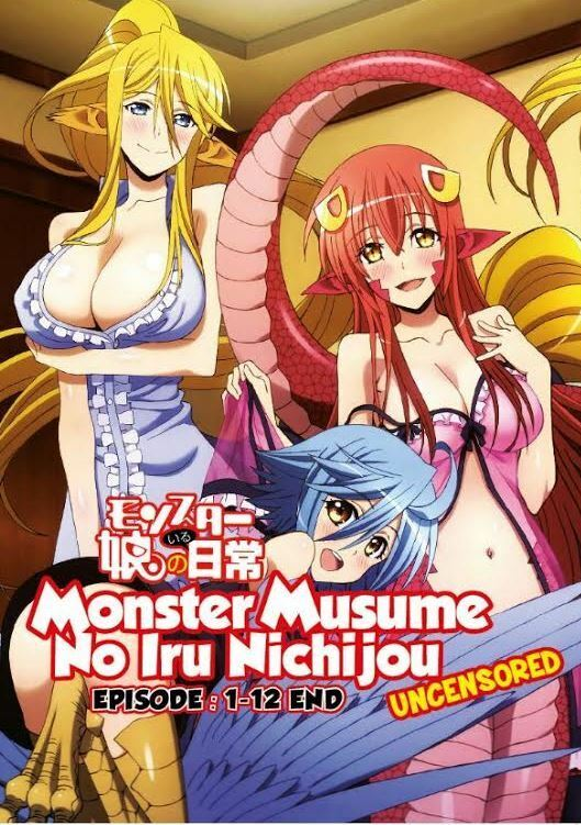 monster musume no iru nichijou uncensored