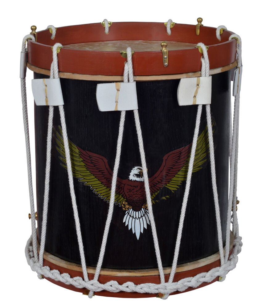 military heritage drum rope tension snare renaissance 16 x 16 calf skin heads ebay. Black Bedroom Furniture Sets. Home Design Ideas