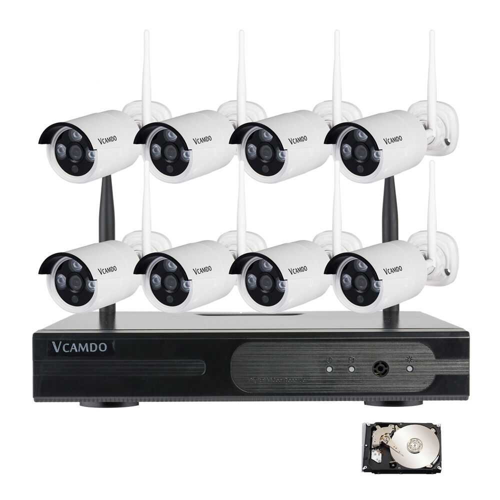 Exterior Home Security Cameras: Outdoor Wireless Home Surveillance Security Camera Systems