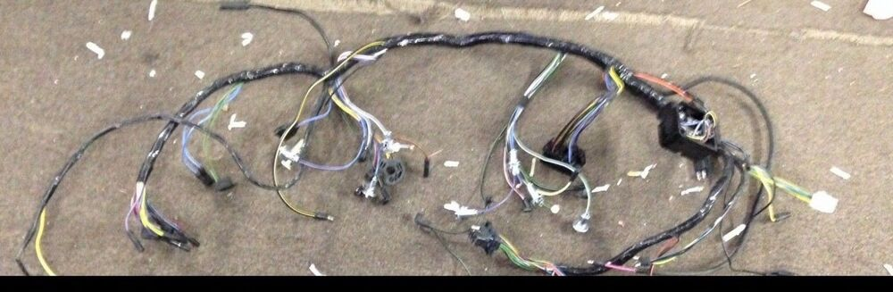 New 1965 Ford Mustang Under Dash Wiring Harness For Gt Gauge Pod