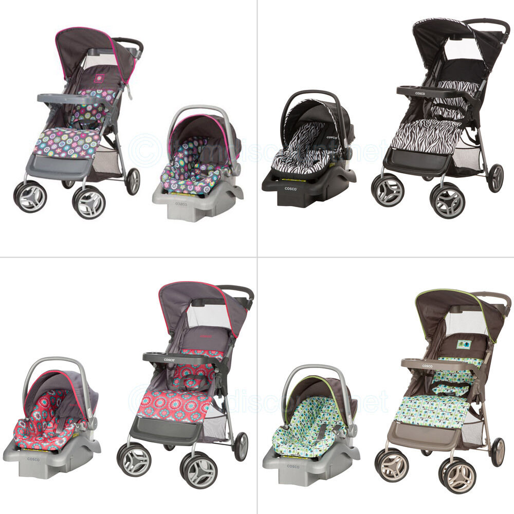 Animal Print Car Seat And Stroller Combo