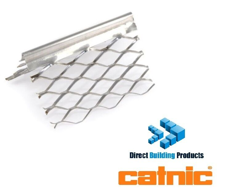 Stainless Steel Corner Bead : Mtr lengths of catnic stainless steel external angle